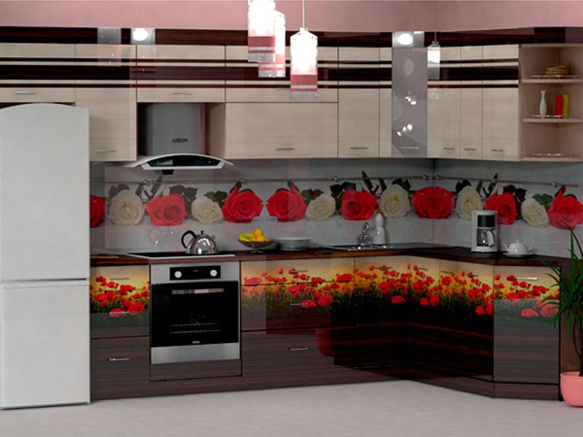 родственники сделать кухонные гарнитуры с розами фото жену является особым