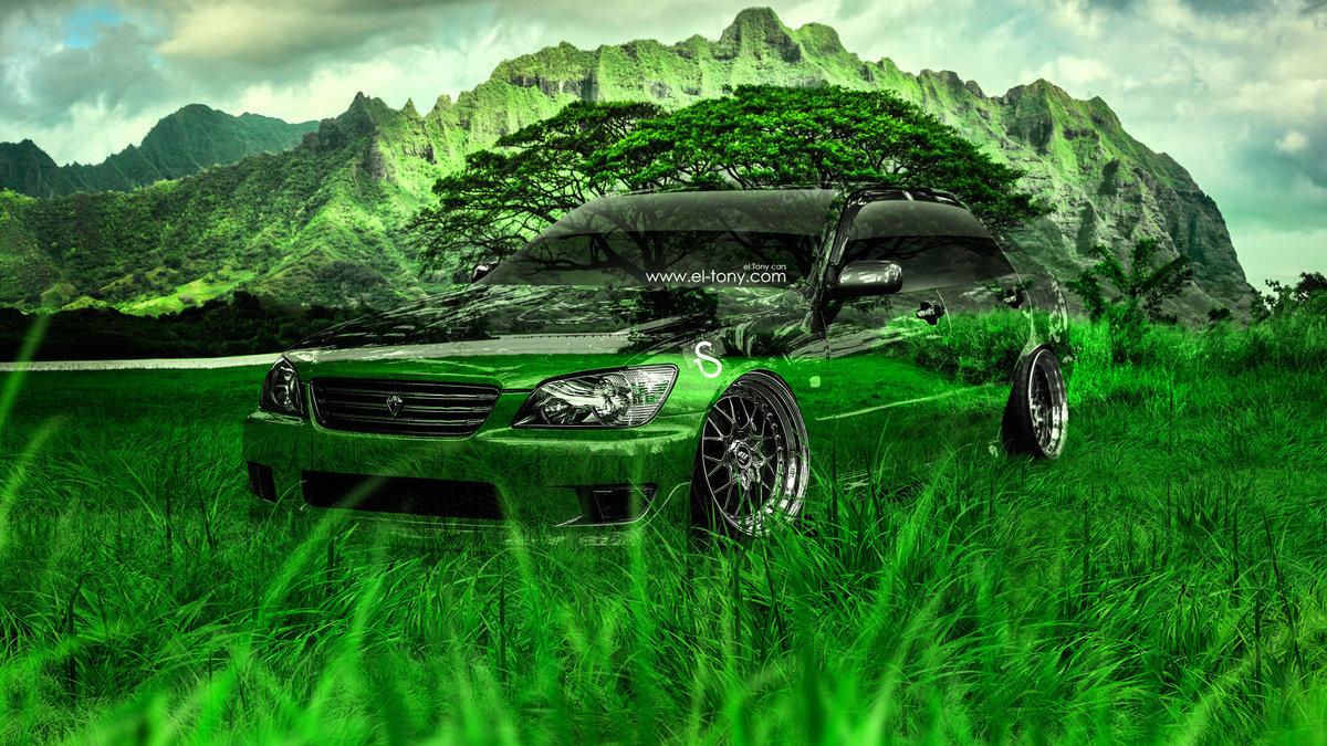 Toyota Altezza JDM Crystal Nature Car 2013 HD