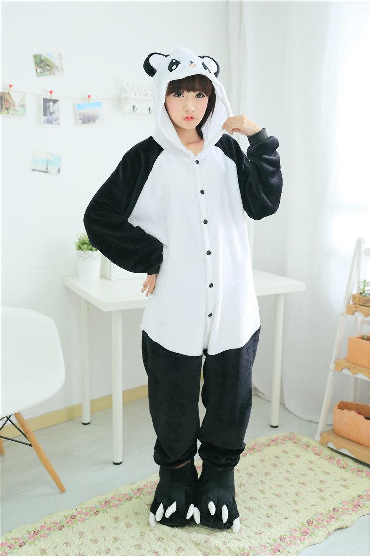 Картинки пижама кигуруми панда