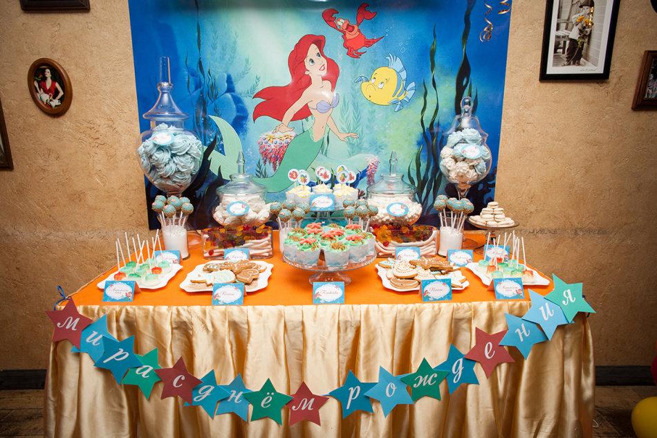 Детский стол на день рождения: 70 фото и 10 подсказок 54