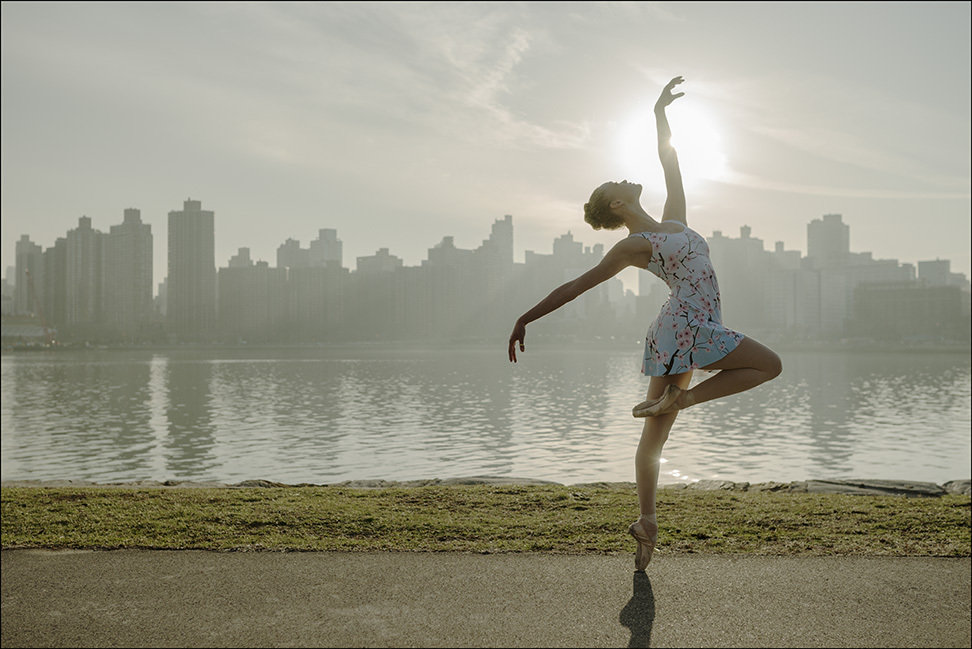 шторы кассетного картинки утро балерины цвет