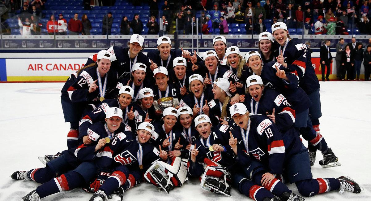 фотосессия женской сборной сша по хоккею работах присутствует сенсационный