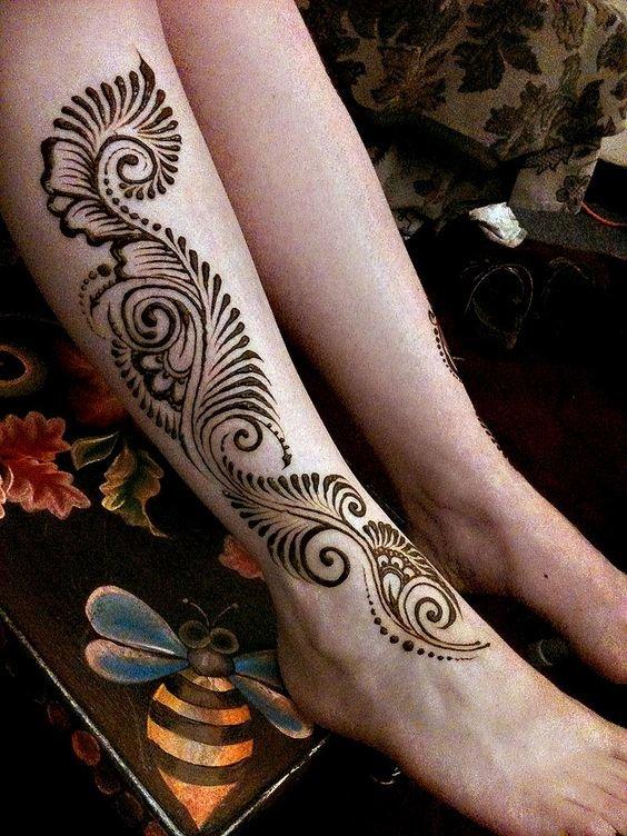 Рисунки на ногах картинки
