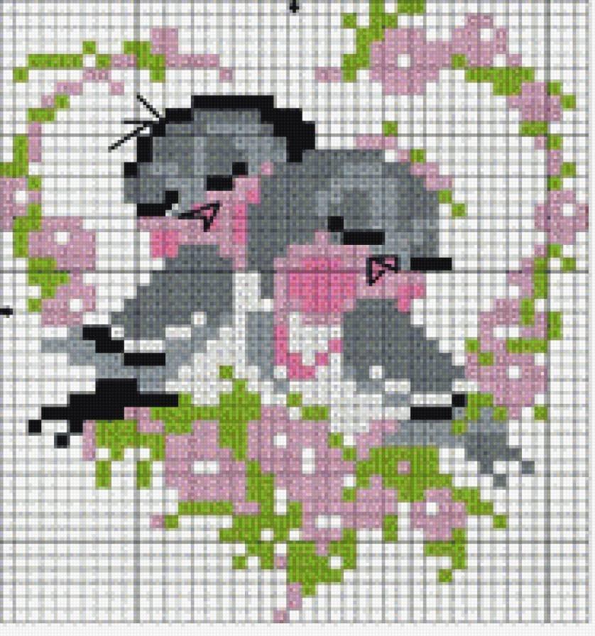 Вышивка крестиком картинки и схемы, бабочки для