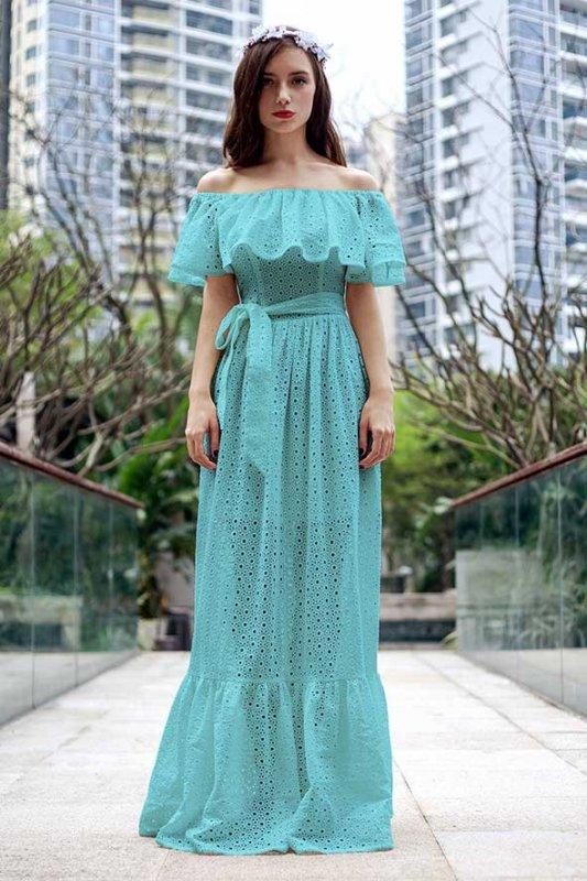 Модные платья в стиле барышня-крестьянка для настоящей кокет ... 044a6338da6