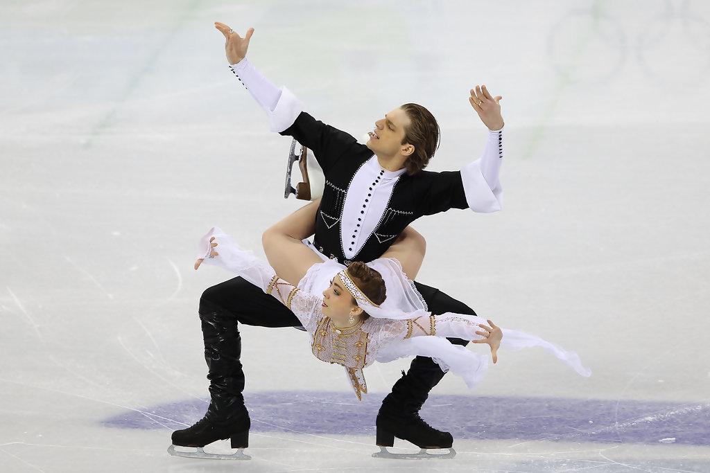 Канада фигурное катание пара спортивные танцы смотреть