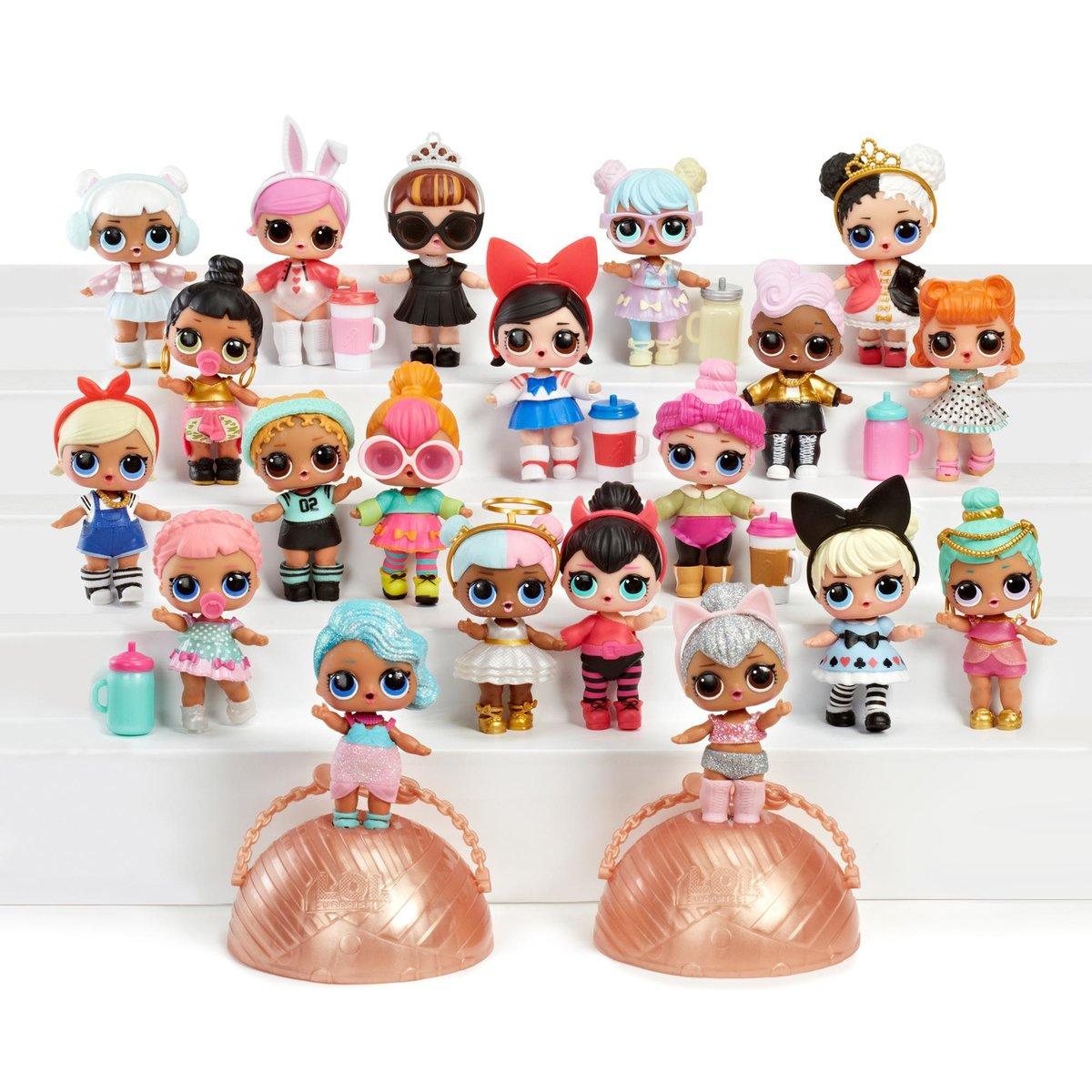 Открытки, картинки коллекция куклы лол