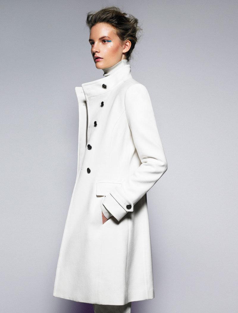 мир только классическое белое пальто фото колоритный магазин
