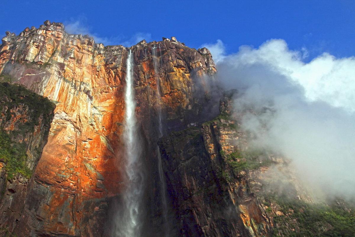 городе самый высокий водопад в мире фото природа
