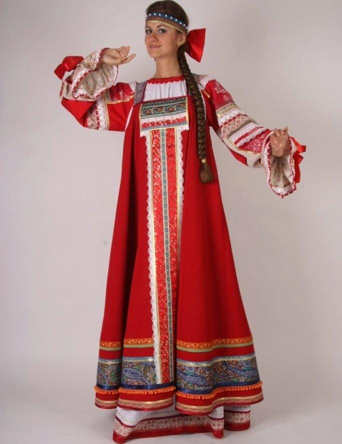 Русская народная одежда картинки