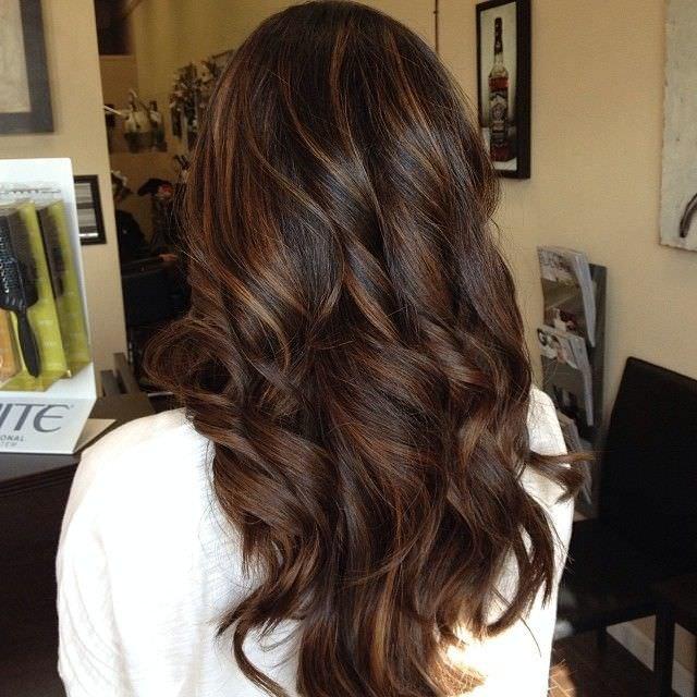 light brown highlights
