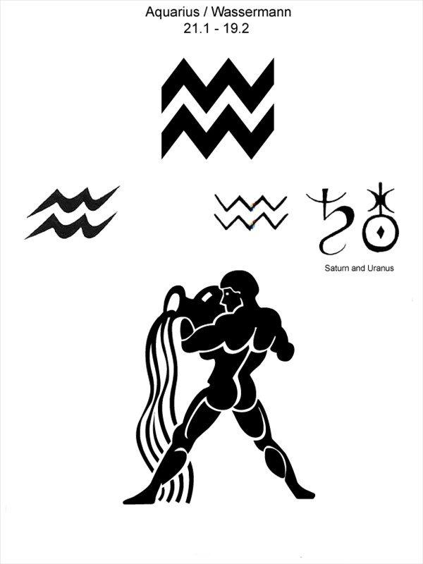 картинки на тату знаки зодиака водолей того