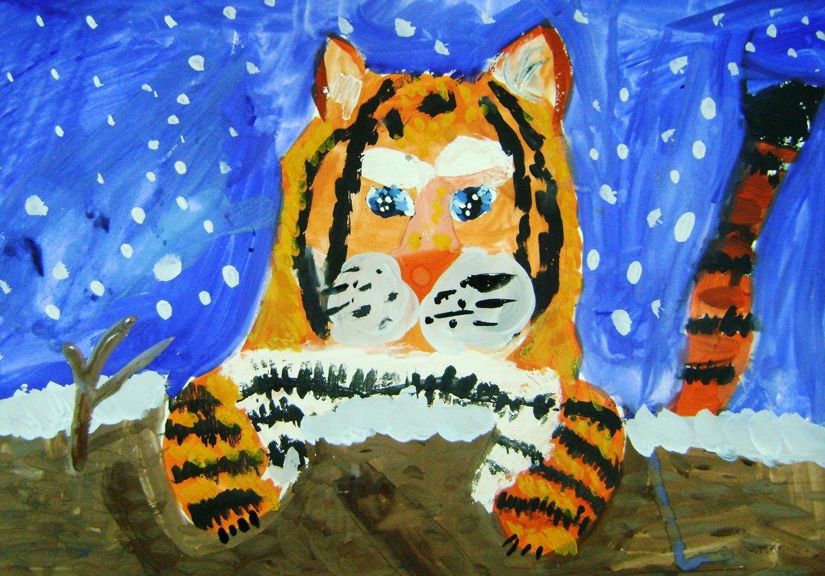 Картинки рисунки детей гуашью