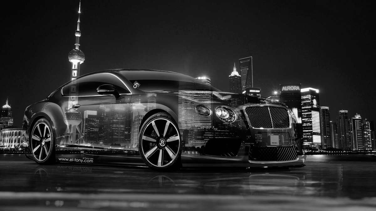 Exceptional Bentley Continental GT Crystal City Car 2014 HD