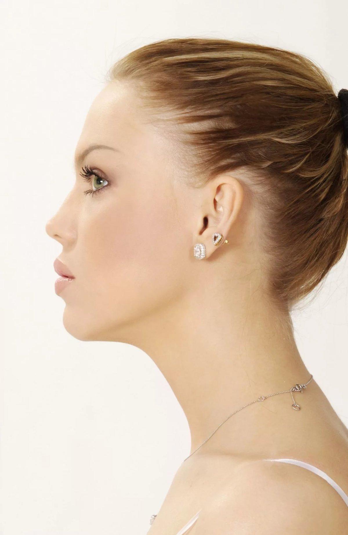 красивый профиль женский фото розовоплодное чудо