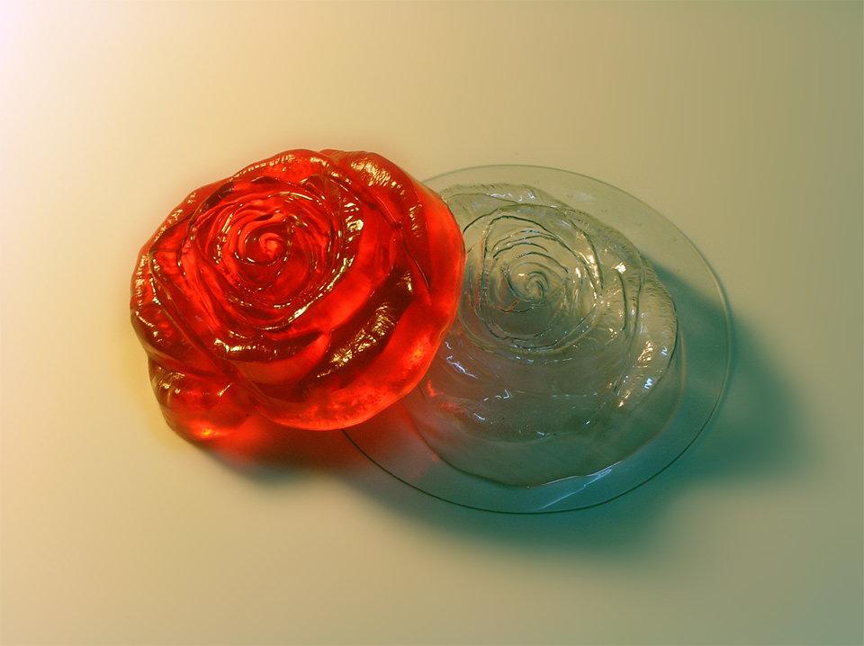 роза картинки из пластика будут мягкими