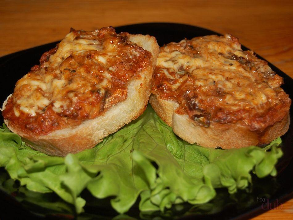 бутерброды горячие с сайрой в духовке рецепты с фото