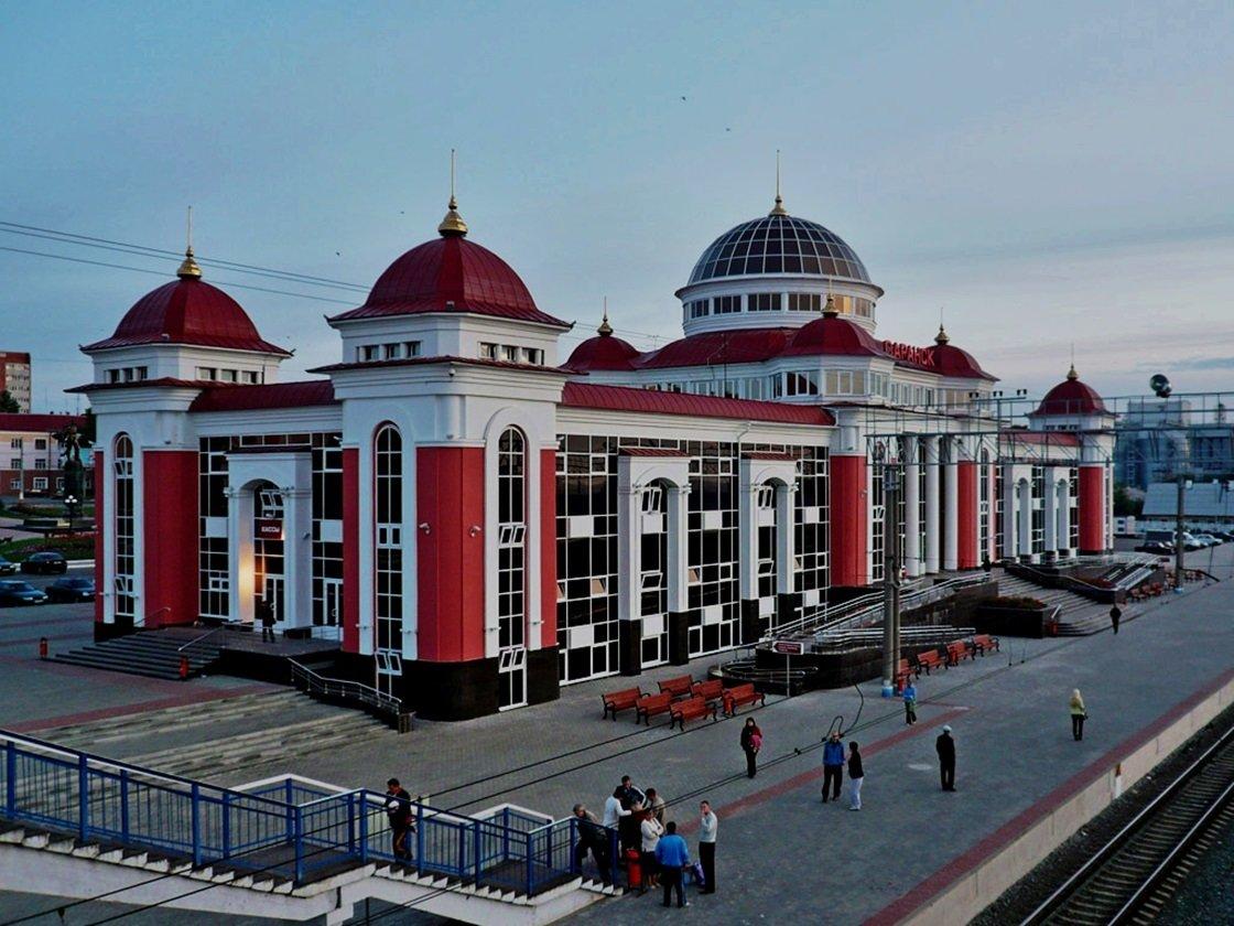 жд вокзал в саранске фото