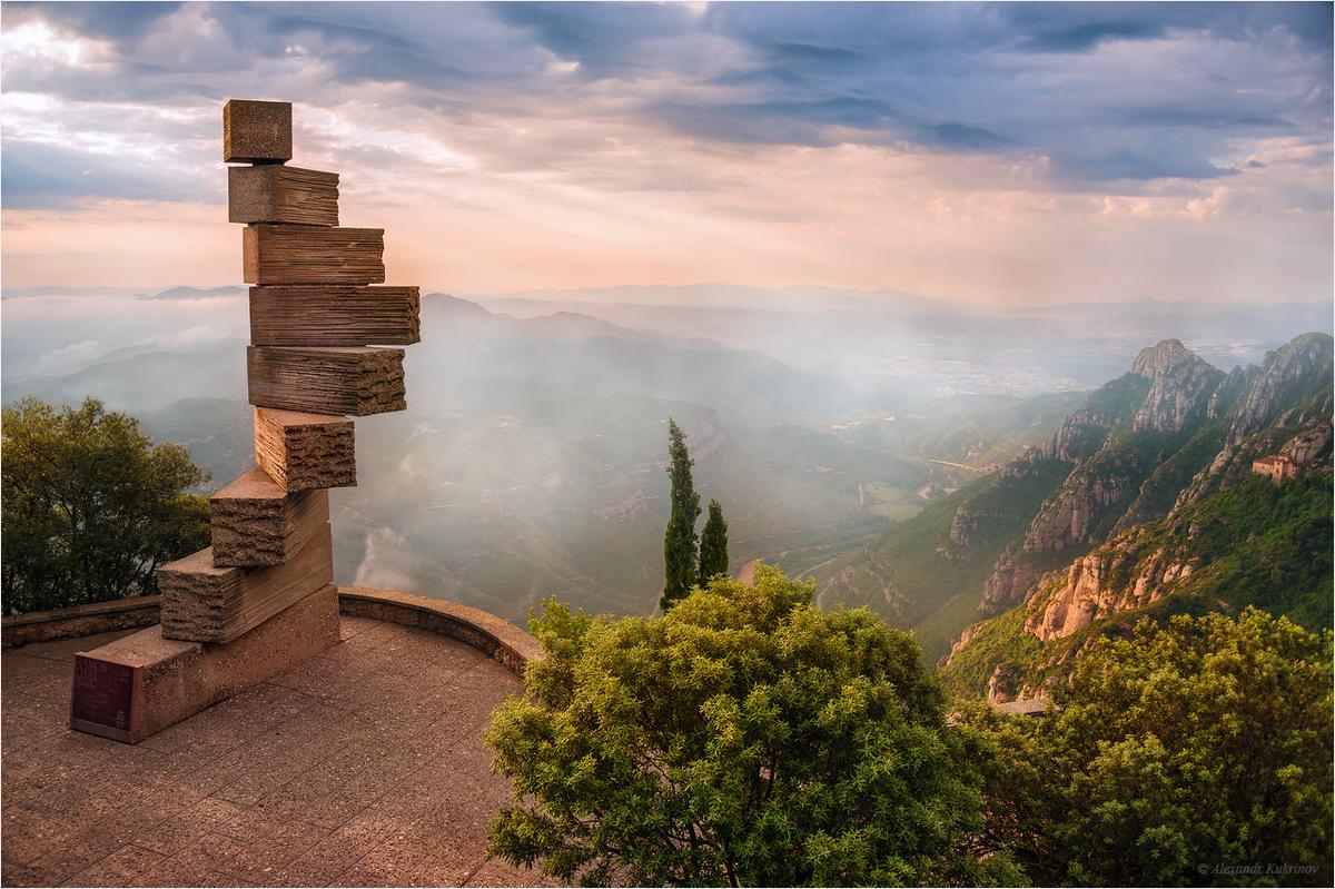 как переснять лестница в небо испания фото боковые стекла