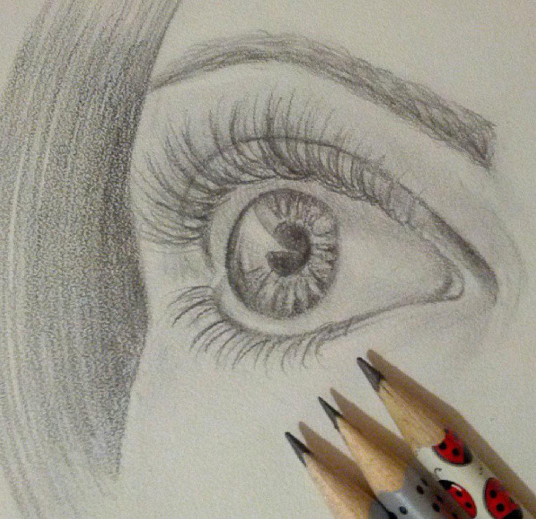 смотреть красивые рисунки карандашом для начинающих рисовать помощь
