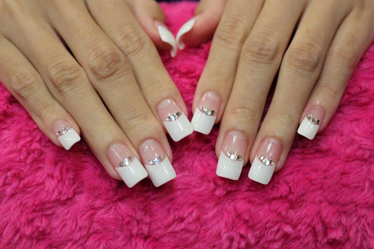 самые красивые квадратные ногти картинки