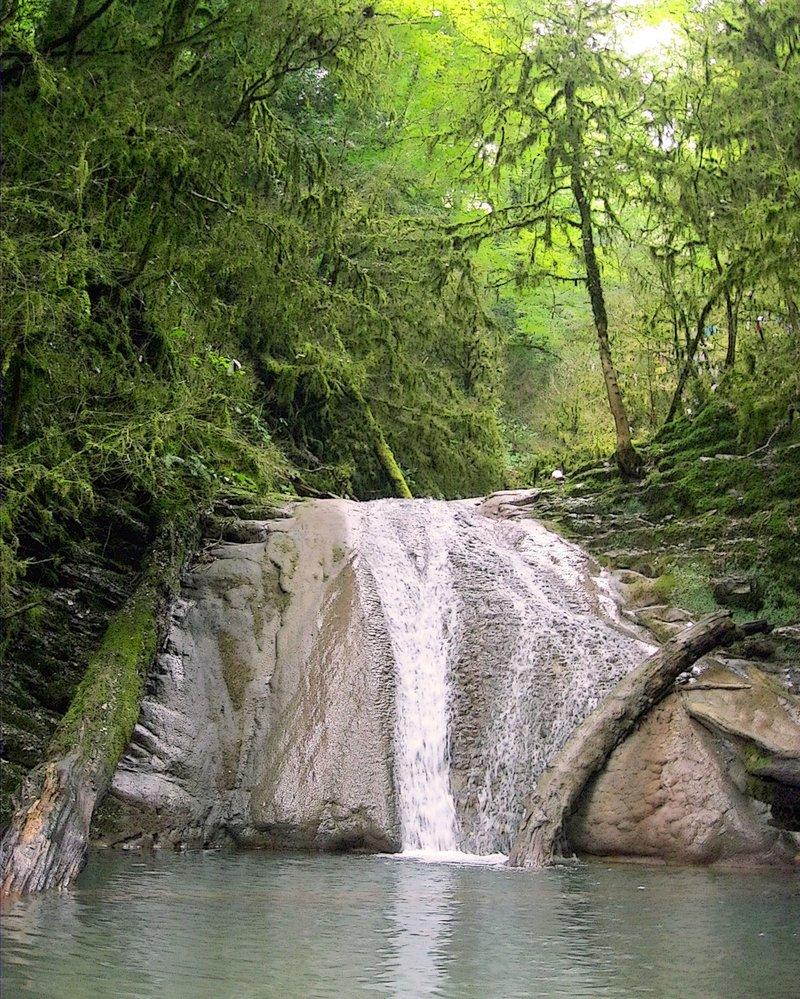 Один из тридцати трёх #водопад #кавказ #лето #пейзаж #природа