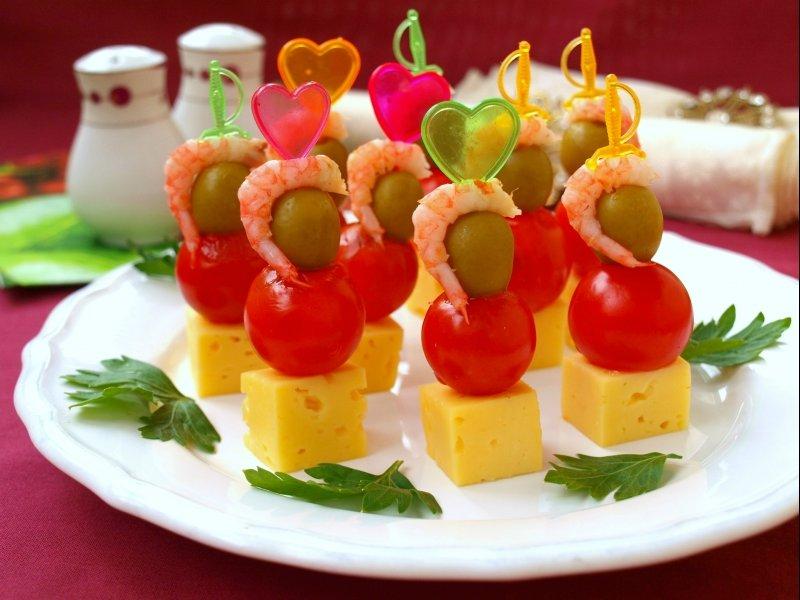 Рецепты изготовления канапе