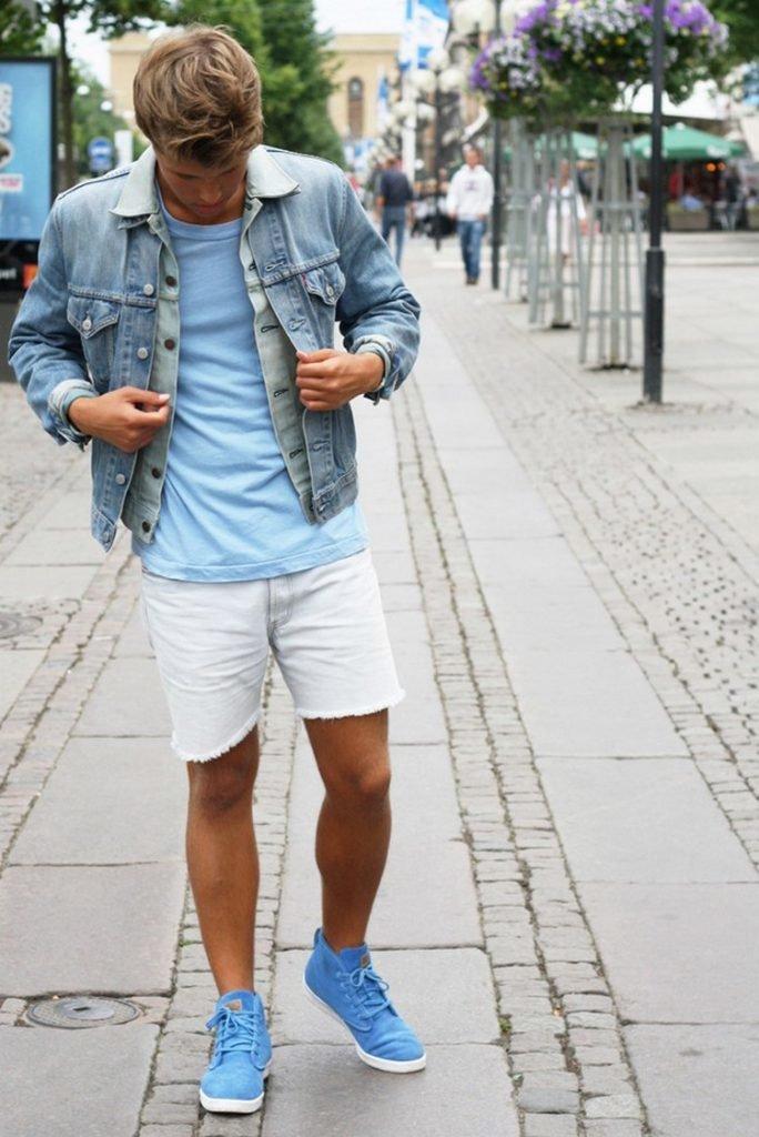 первый взгляд, фото мужчин в джинсовых кедах шсс-тм имеет