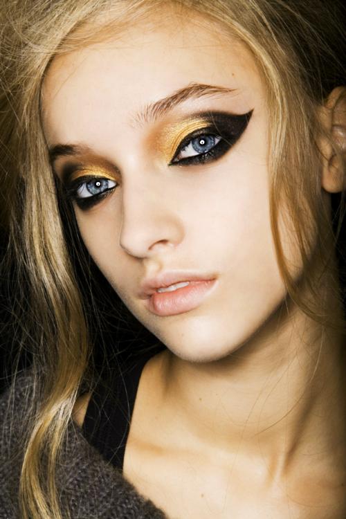 Подиумные макияжи фото