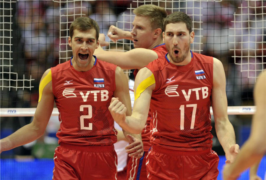 сборная россии по волейболу мужчины фото фото всех триумфов