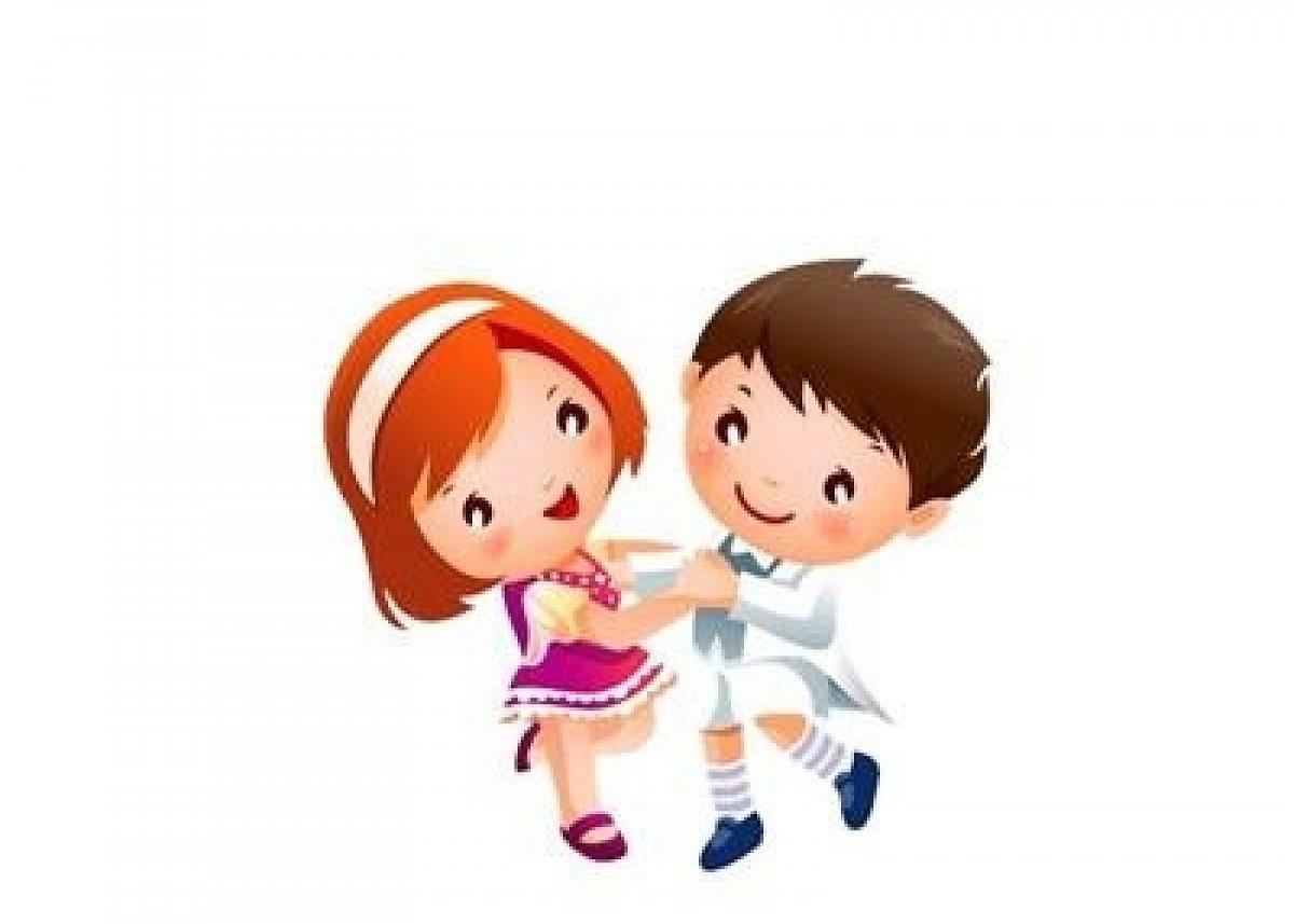 Дети танцуют в картинках для детей