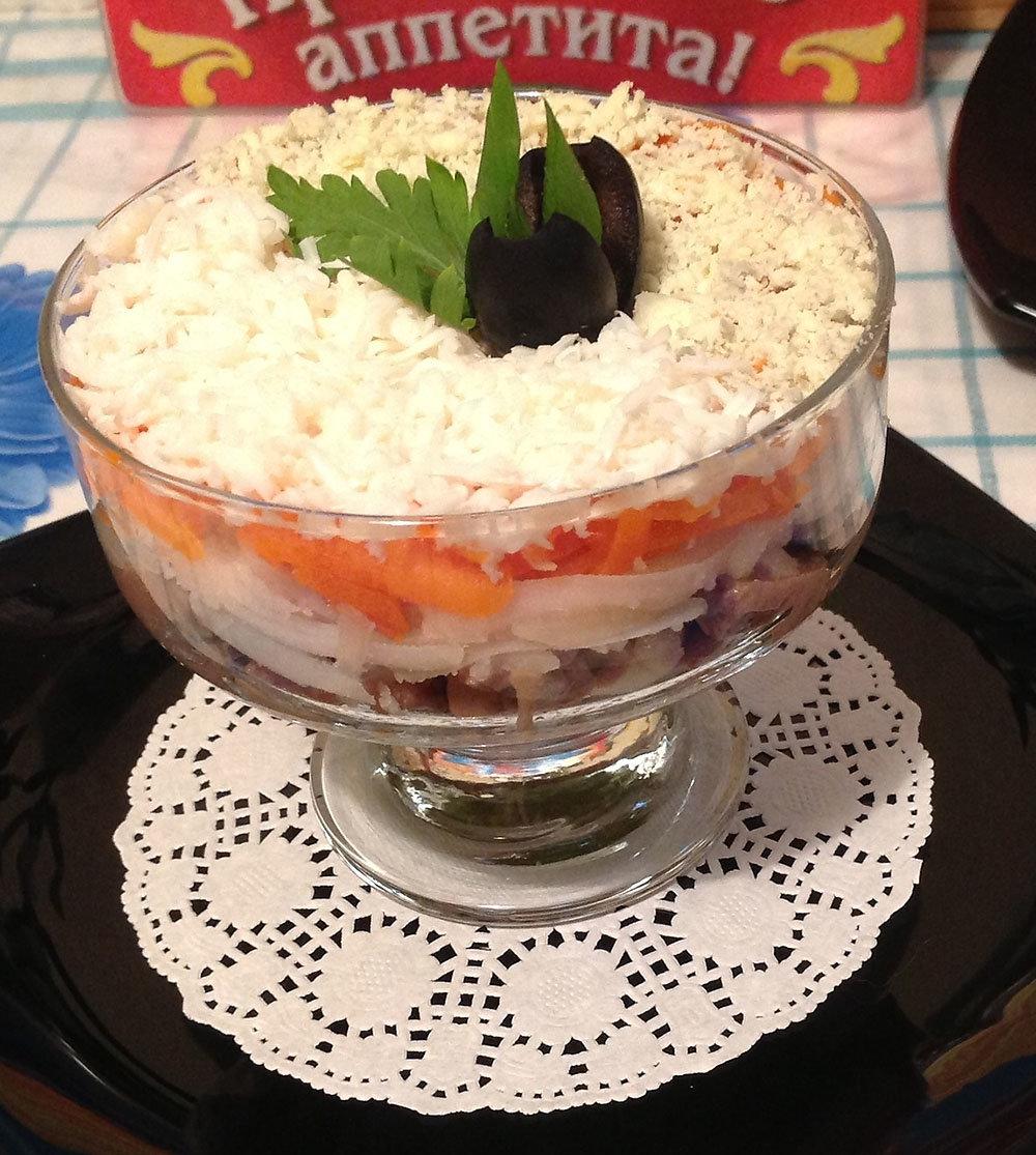 салаты из печени минтая рецепты с фото первую очередь, необходимо