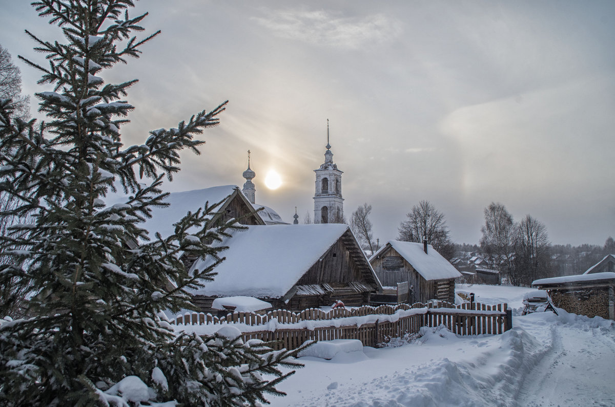 русские зимние пейзажи фото налил себе
