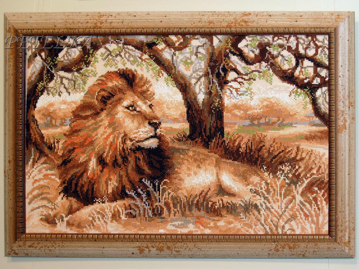 Лев достаточно известный герой разных сфер в жизни: львенок - схема для вышивания крестиком.