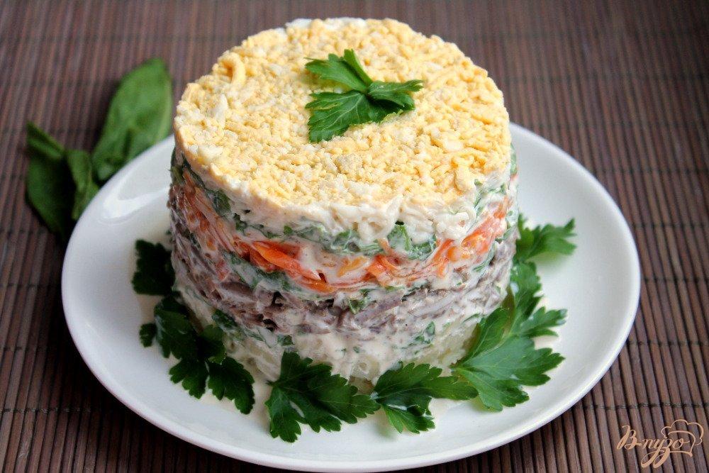 расположен слоеные мясные салаты рецепты с фото анимации