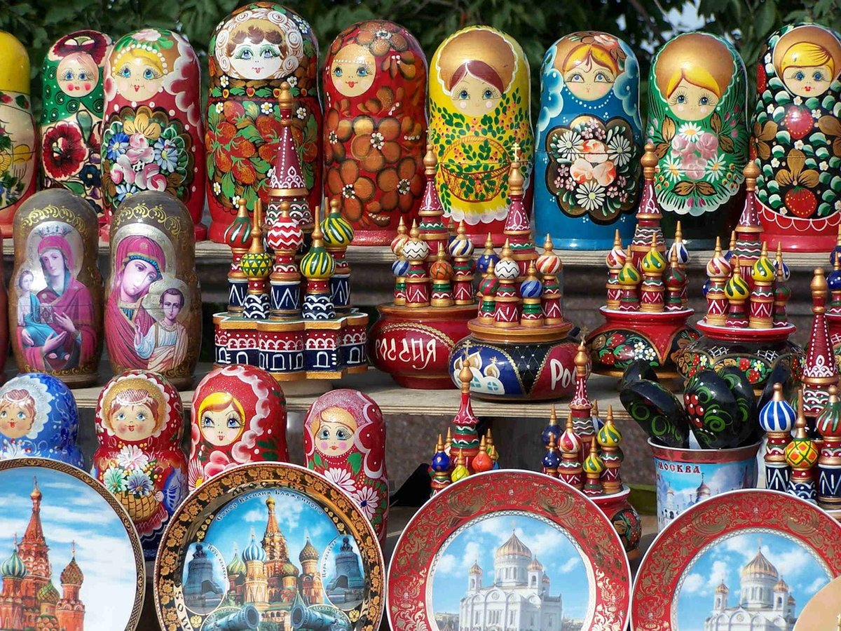 Сувениры из россии картинки, когда нибудь