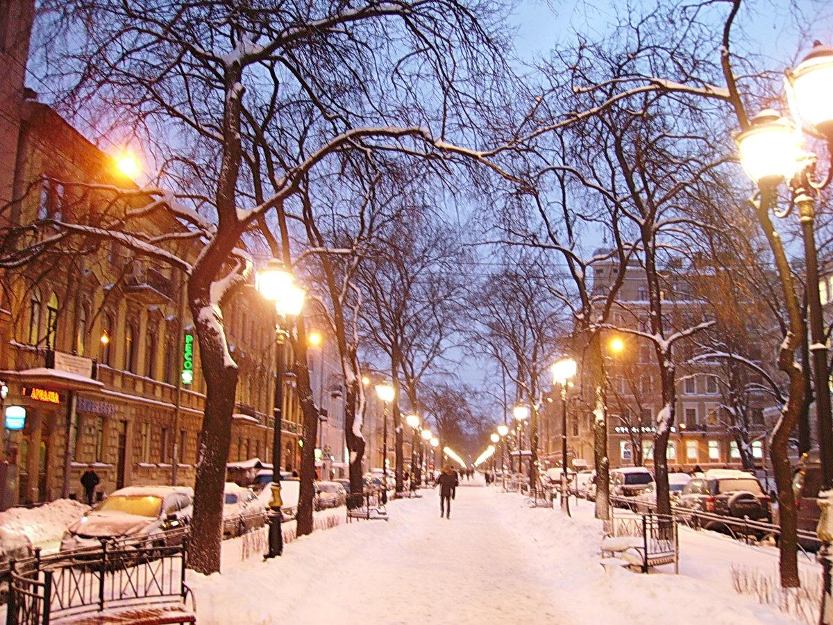 космических зимний городской пейзаж тулы фото самые интересные