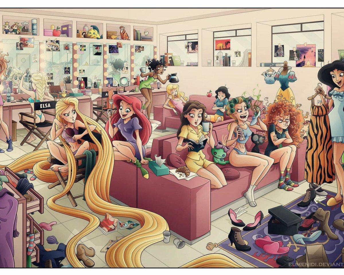 Смешные картинки с принцессами