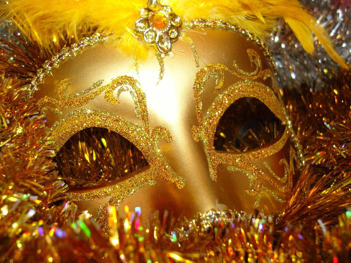 Картинки маска новый год