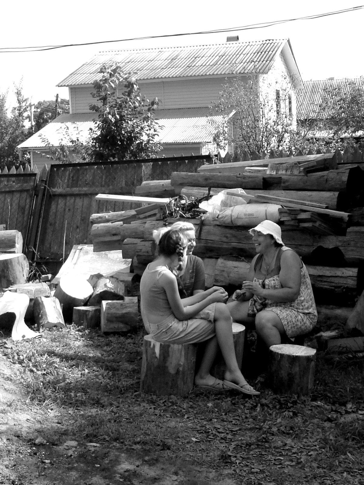Как оплодотворяли баб в семьях на деревне в былые времена — pic 14
