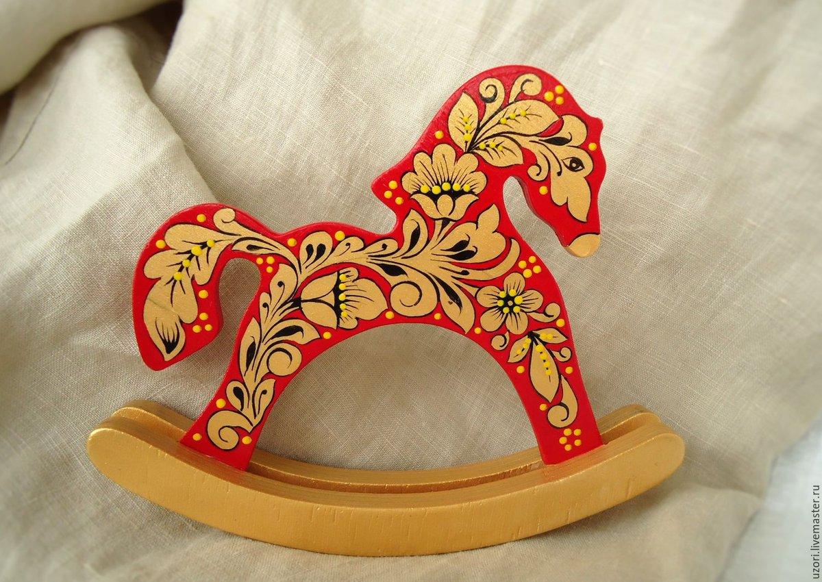 Древнерусская игрушка лошадь картинки