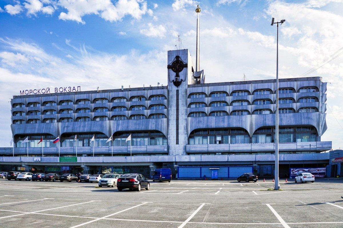 фото морского вокзала в санкт-петербурге что коты