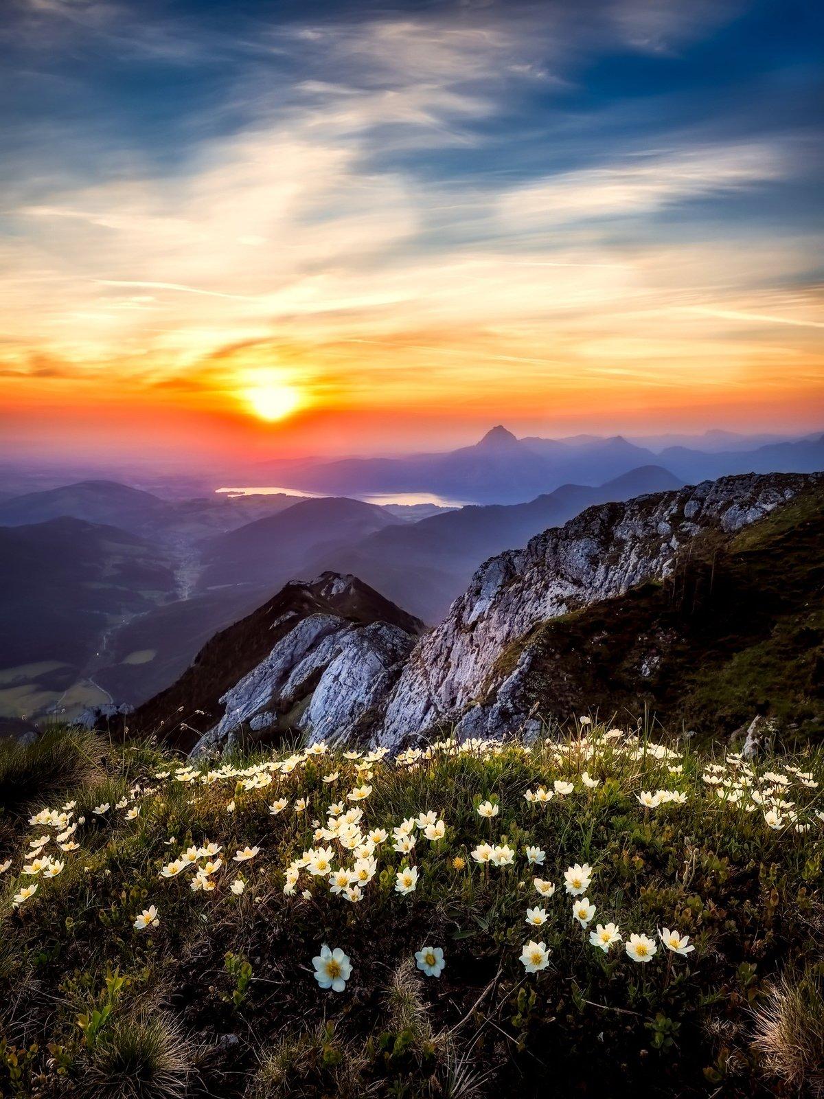 Доброе утро открытка море горы