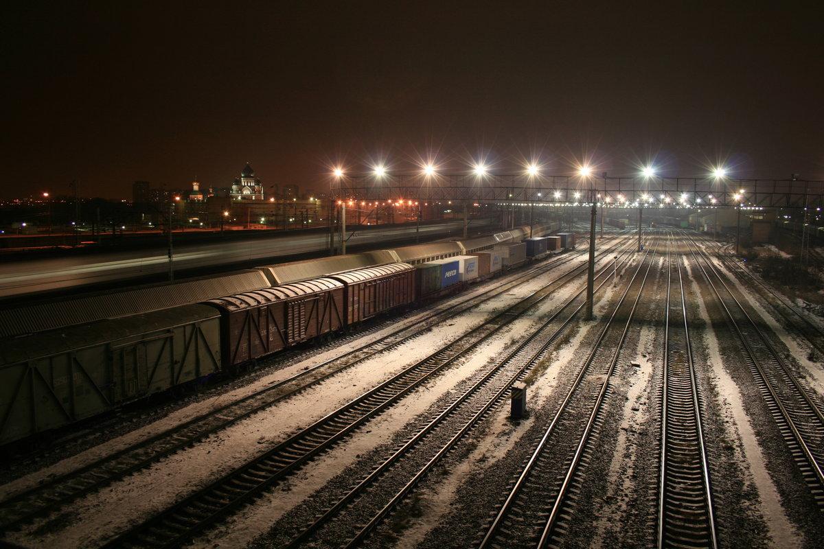 дешевые фото железной дороги ночью можете сделать