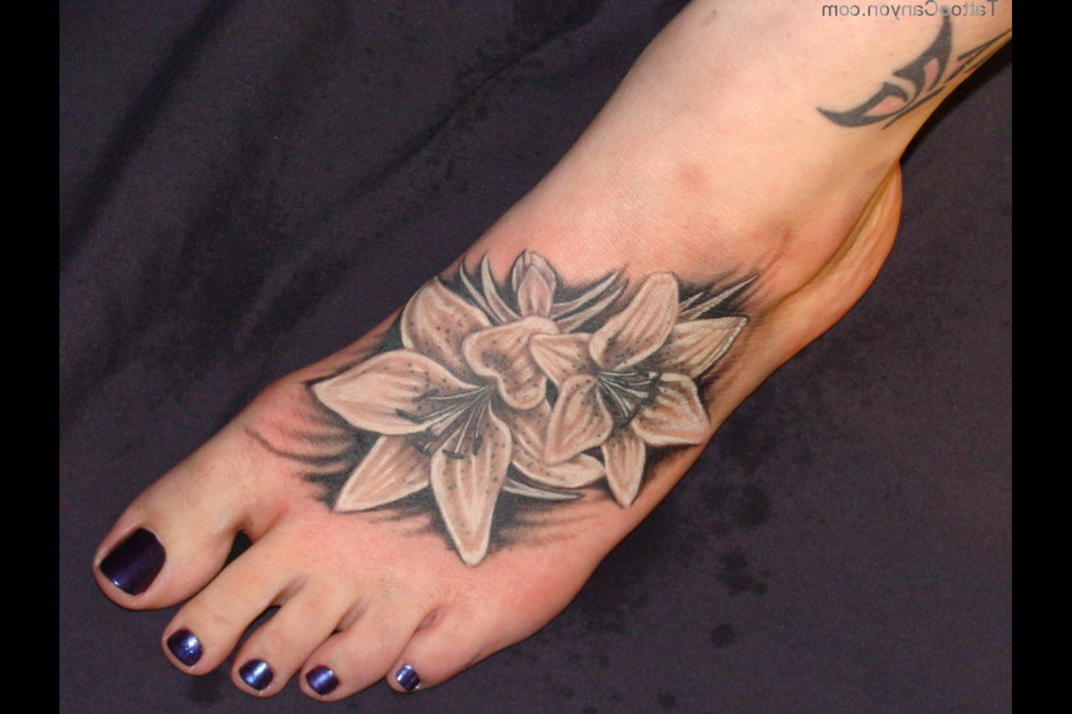 Small Flower Tattoos On Ankle Pink Flower Ankle Tattoo Design Fresh