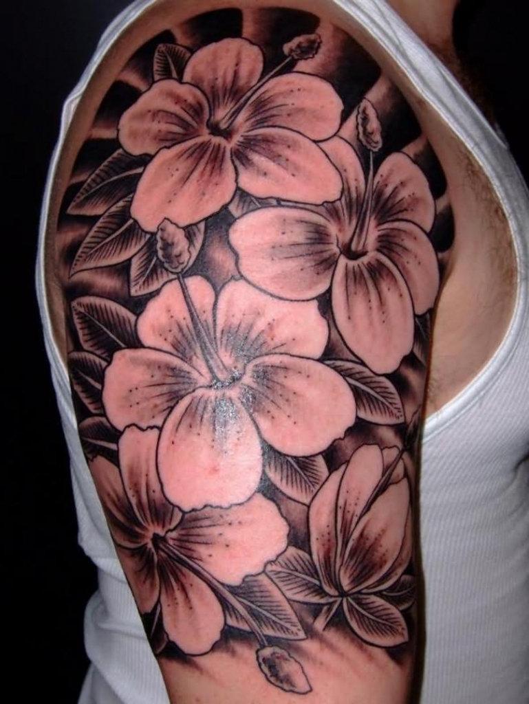 Flower Tattoos For Guys Flower Tattoo Designs For Guys Flower
