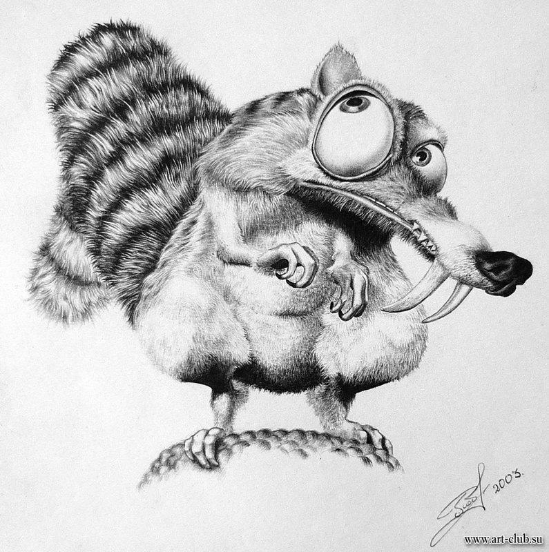 Нарисовать смешных животных карандашом, поздравления