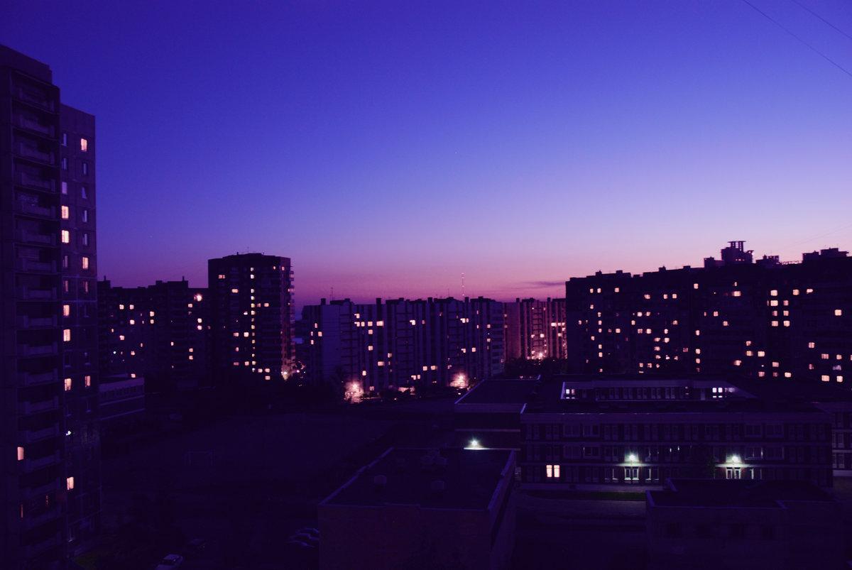мой ночной город железнодорожный фото делают