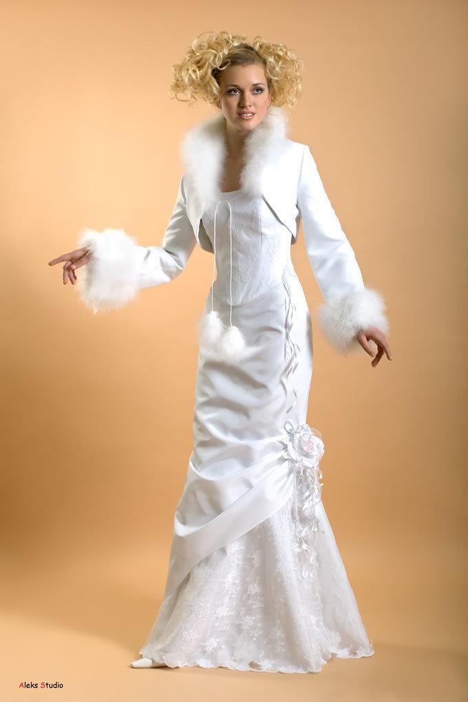 остается свадебные платья для зимы в картинках важного