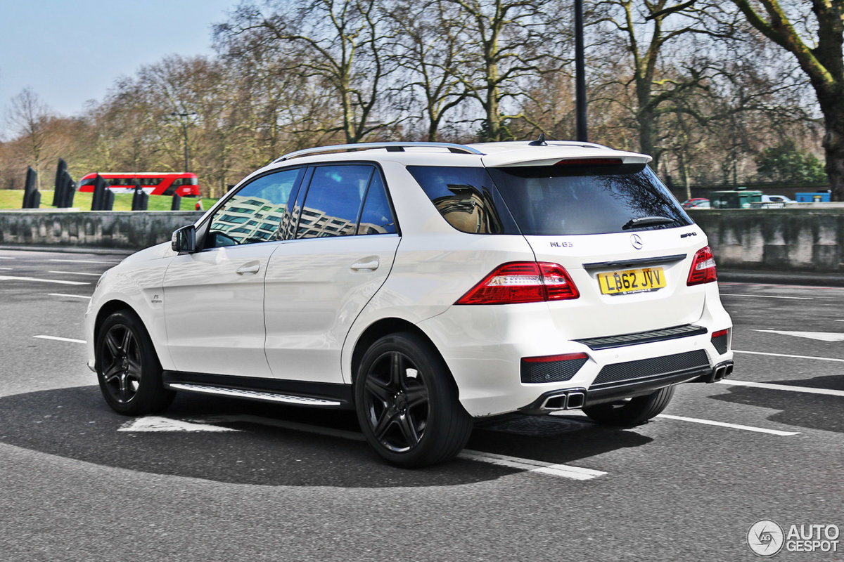 Mercedes Benz Ml 63 Amg W166 28 2017
